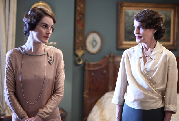 Lady Mary and Cora