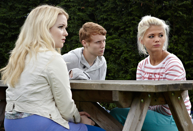 Lola, Jay and Abi's pleasant day out is interrupted by a gang of girls out to cause trouble.