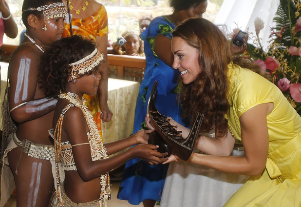 Duchess of Cambridge, Women's Reception at the Leaf House, Commonwealth Youth South Pacific Centre