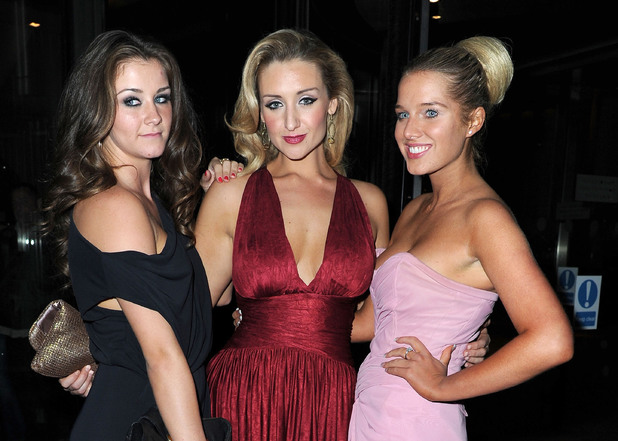 Brooke Vincent, Catherine Tyldesley and Helen Flanagan at The Genesis Ball 2012 held in Manchester.