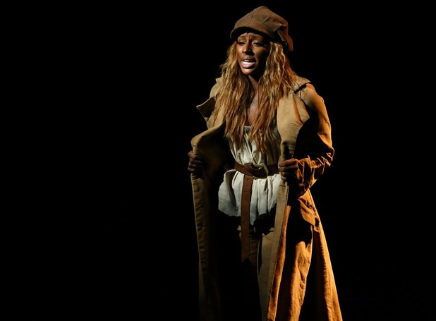 Alexandra Burke does Les Miserables for BBC Children in Need Pop