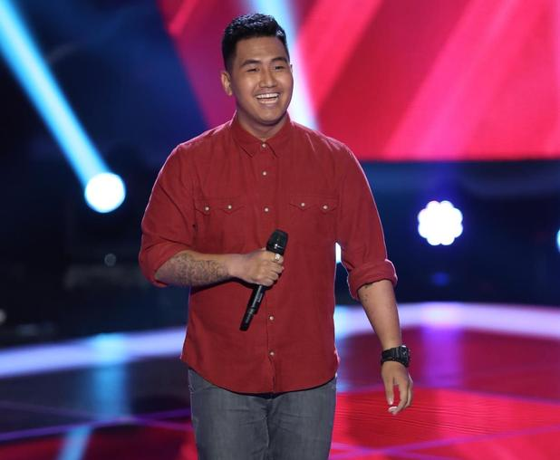 JR Aquino's audition for NBC's The Voice
