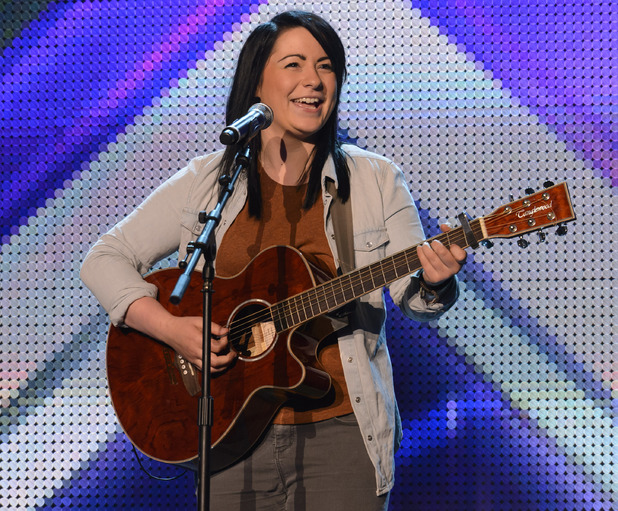 Lucy Spraggan at boot camp