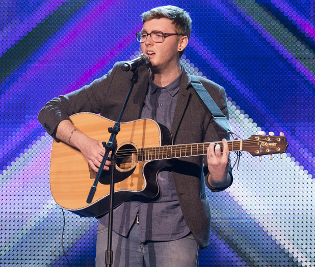The X Factor Boot Camp: James