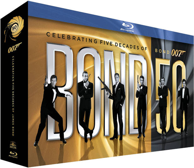 James Bond 50 Blu-ray collection