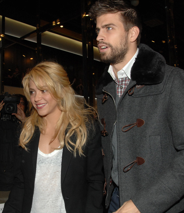 Shakira and Gerard Pique at the launch of the book 'Two Lives' written by Pique's father Joan Barcelona, Spain - 17.11.11 **Available for publication in UK. Not for publication in the rest of the world** Mandatory credit: WENN.com