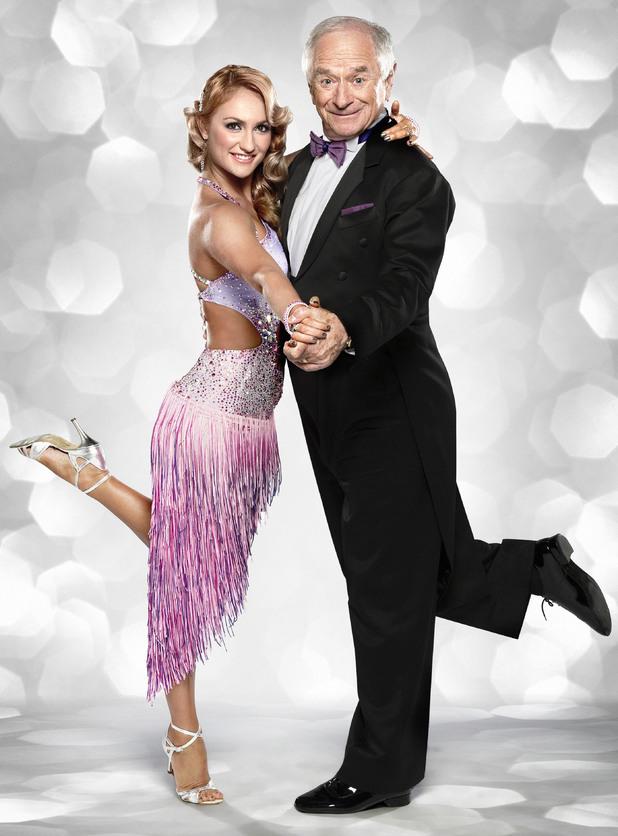 Johnny Ball and Aliona Vilani