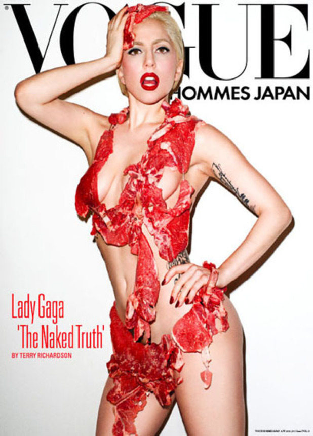 Lady GaGa, Vogue Hommes Japan
