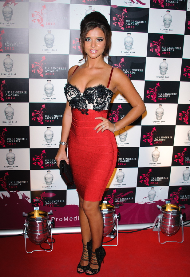 Lucy Mecklenburgh The UK Lingerie Awards 2012 London, England - 19.09.12 Credit: (Mandatory): WENN.com