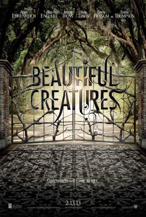 &#39;Beautiful Creatures&#39; poster
