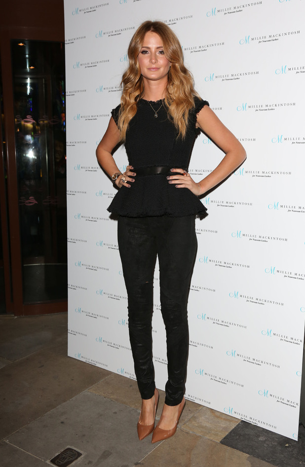 Millie Mackintosh launches Nouveau lashes at Soho Sanctum hotel