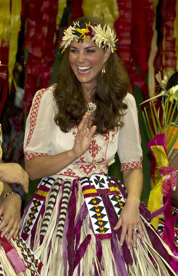 Duchess of Cambride, Vaiku Falekaupule