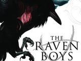 Book cover for Maggie Stiefvater's 'The Raven Boys'