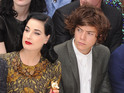 Harry Styles, Dita Von Teese and more at Burberry for London Fashion Week 2012.