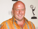 "Dean Norris says he enjoys playing ""the bad guy"" in Under the Dome."