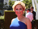 "Leigh-Allyn Baker says she is ""madly in love"" with her newborn son."