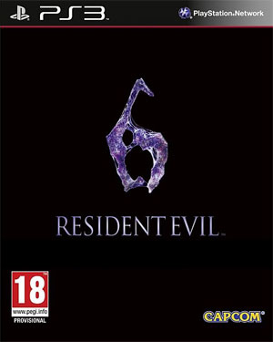 'Resident Evil 6' ps3 packshot