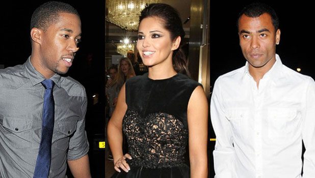 Ashley Cole Cheryl Cole Tre Holloway