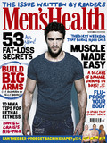 Thom Evans Men's Health November cover.