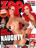 Jodie Marsh in Zoo Magazine photoshoot - Zoo front cover