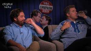 Will Ferrell, Zach Galifianakis 'The Campaign' interview - video