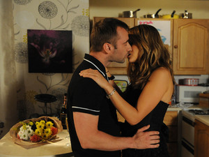 Corrie, Marcus and Maria kiss, Fri 5 Oct