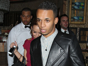 Aston Merrygold of JLS, leaving Mahiki nightclub. London, England - 26.09.12 Mandatory Credit: Spiller/WENN.com