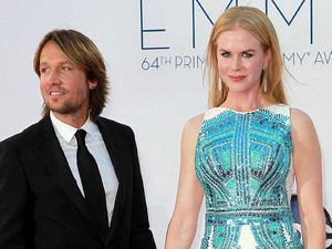 Keith Urban and Nicole Kidman 64th Annual Primetime Emmy Awards, held at Nokia Theatre L.A. Live - Arrivals Los Angeles, California