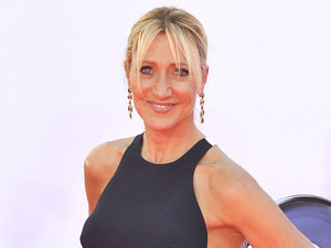 Edie Falco 64th Annual Primetime Emmy Awards, held at Nokia Theatre L.A. Live - Arrivals Los Angeles, California
