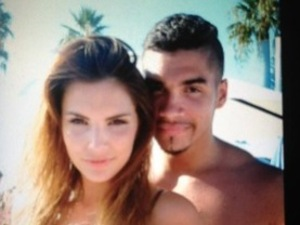 Louis Smith and Chantelle Hole in Marbella