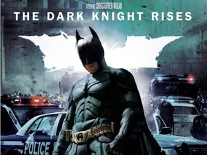 'The Dark Knight Rises' DVD artwork