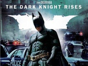 'The Dark Knight Rises' DVD artwork