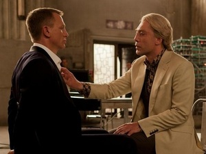 Daniel Craig and Javier Bardem in 'Skyfall'