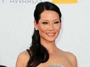 Lucy Liu 64th Annual Primetime Emmy Awards, held at Nokia Theatre L.A. Live - Arrivals Los Angeles, California