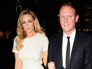 Catherine Tyldesley and Antony Cotton at Selfridge's 10th anniversary celebrations. Manchester, England
