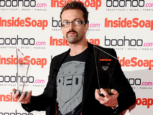 Inside Soap Awards 2012 - Winners: Emmett J Scanlan