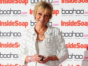 Inside Soap Awards 2012 - Winners: Gillian Wright