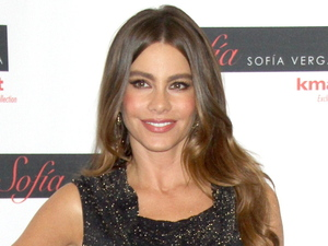 Sofia Vergara promotes her fall fashion and home collection 'Sofia' for Kmart at Manhattan's Kmart Astor Place New York City
