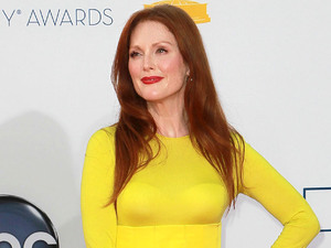 Julianne Moore 64th Annual Primetime Emmy Awards, held at Nokia Theatre L.A. Live - Arrivals Los Angeles, California