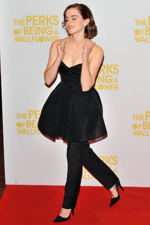 Emma Watson Gala Screening of 'The Perks of Being A Wallflower' held at the May Fair Hotel - Inside Arrivals. London, England