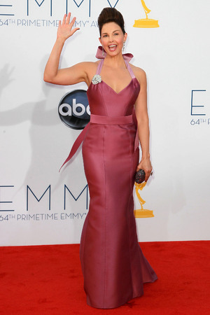Ashley Judd 64th Annual Primetime Emmy Awards, held at Nokia Theatre L.A. Live - Arrivals Los Angeles, California