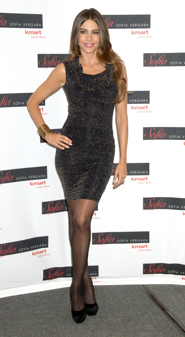 Sofia Vergara promotes her fall fashion and home collection 'Sofia' for Kmart