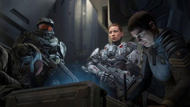 'Halo 4' campaign screenshot
