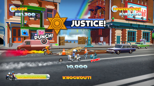 'Joe Danger 2: The Movie' PS3 screenshot
