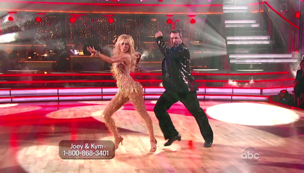 Dancing With The Stars S15E01: Kym Johnson and Joey Fatone