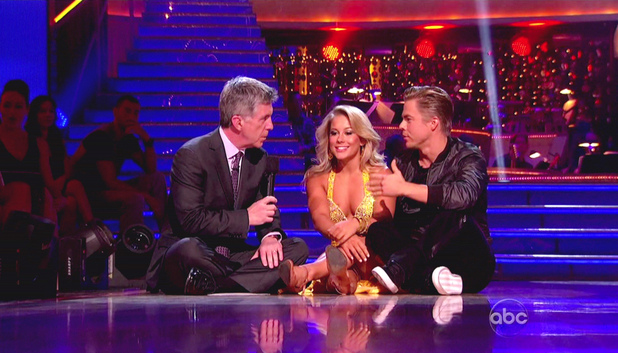 Dancing With The Stars S15E02: Shawn Johnson and Derek Hough 