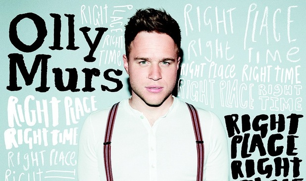 Olly Murs 'Right Place Right Time' album cover