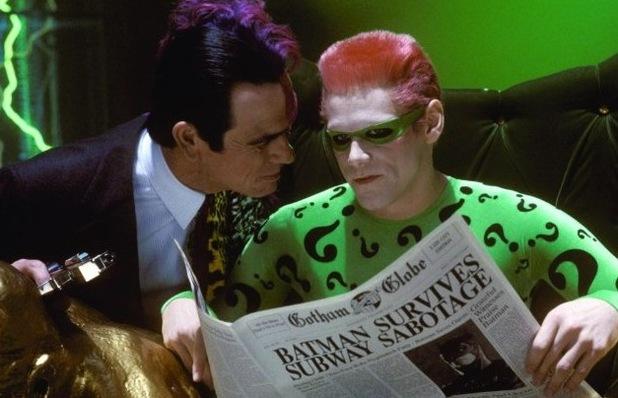 Jim Carrey, Riddler, Batman Forever