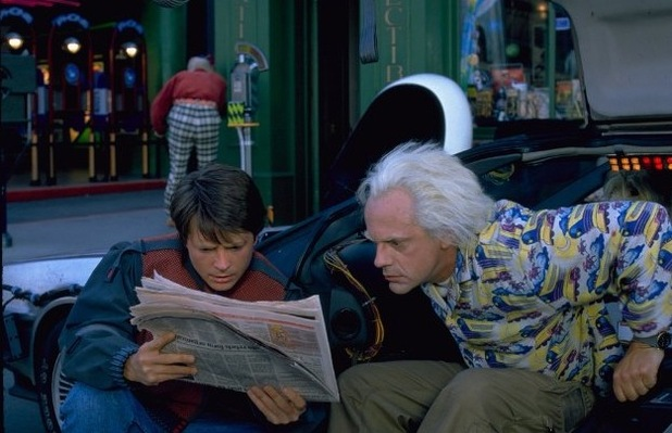 Michael J Fox, Back to The Future II
