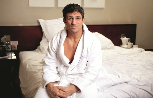 Alex Reid in Now Magazine